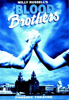 Blood Brothers Theatre Poster