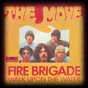 Fire Brigade, German picture sleeve.
