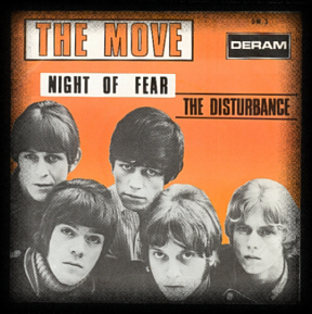 Night of Fear, Belgian Picture Sleeve